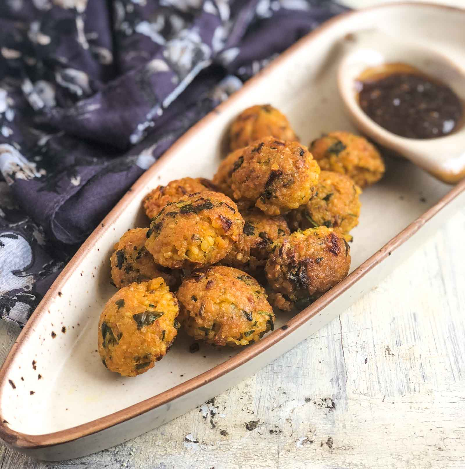 Dalia Pakora Recipe - Broken Wheat Pakora
