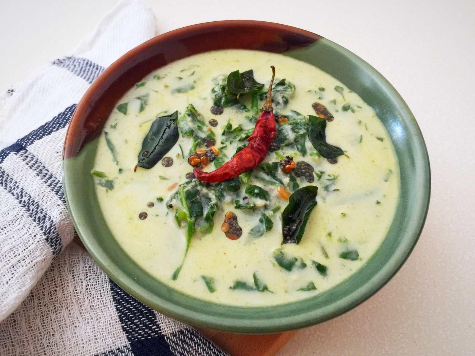 Recipe Of Cake In Kannada: Karnataka Style Harive Soppu Bendi Recipe (Amaranth Leaves