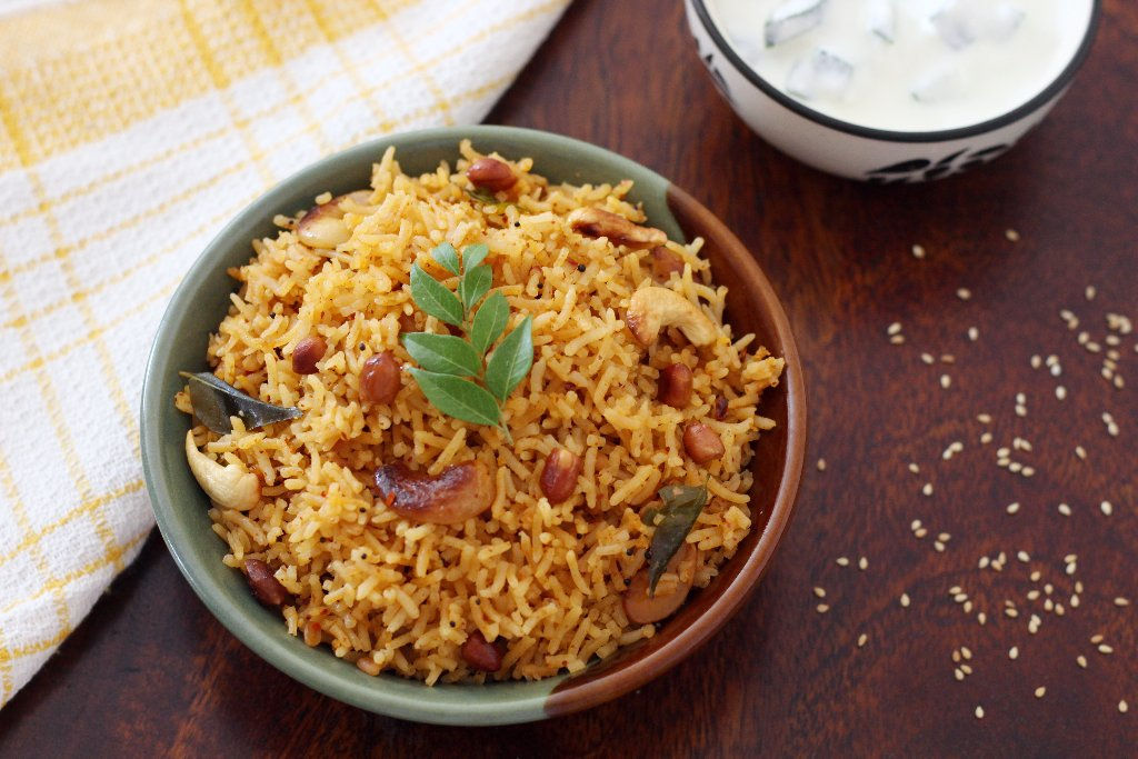 Ellu Sadam Recipe - South Indian Style Til Pulao Recipe
