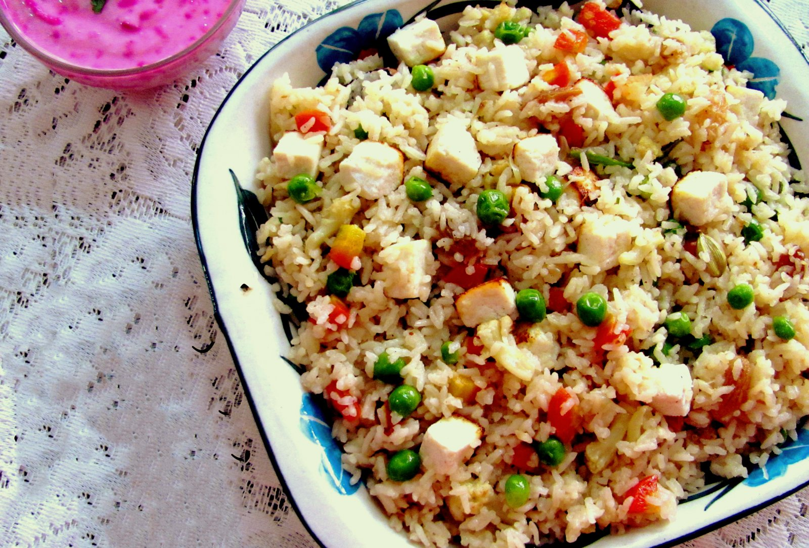Bengali Style Mixed Vegetable Sweet Pilaf Recipe