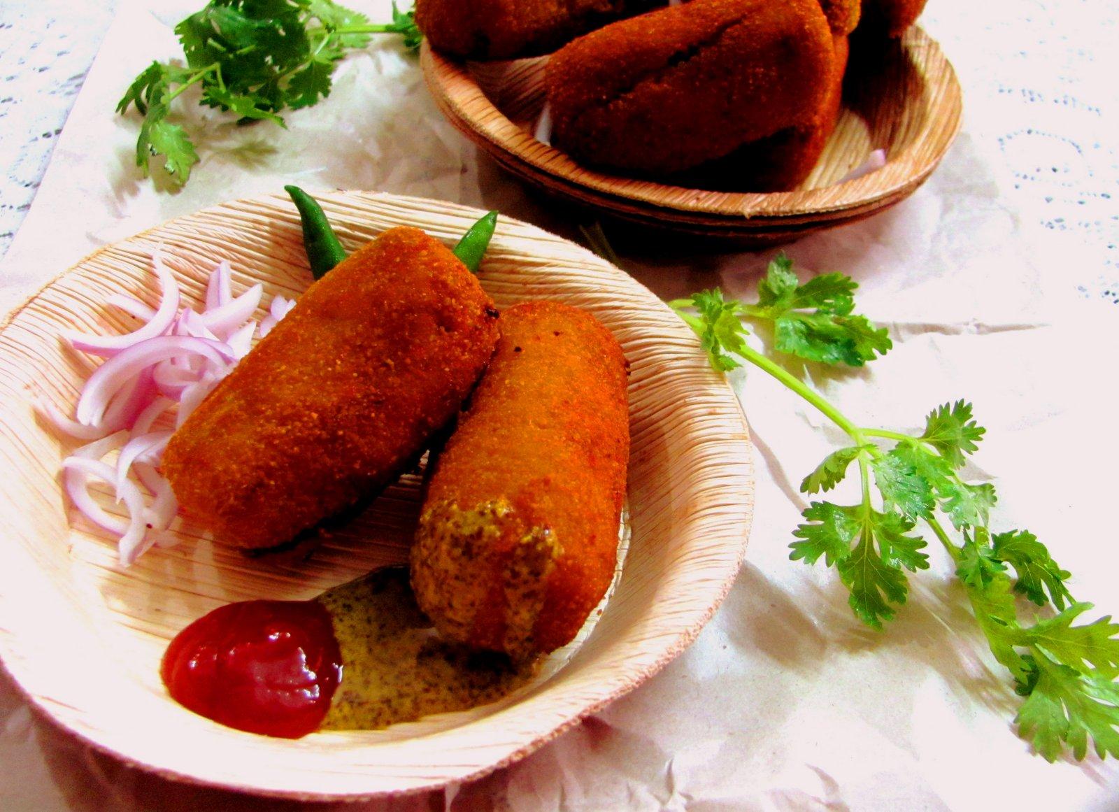 macher chop recipe video Macher Chop Recipe (Bengali Style Fish Croquettes)