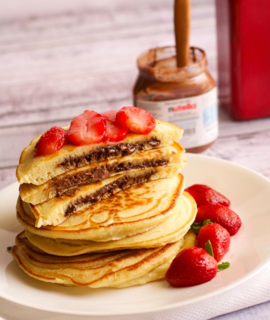 Nutella Pancakes Recipe