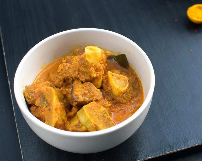 Simple Mutton Curry With Coconut Recipe