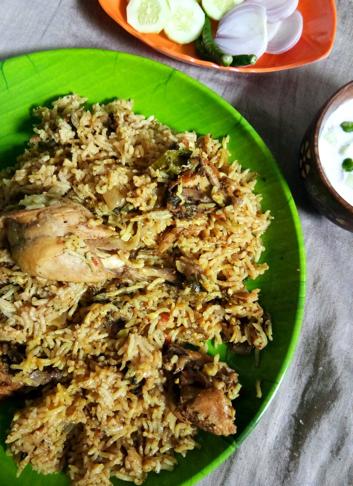 Thalapakattu Chicken Biryani Recipe