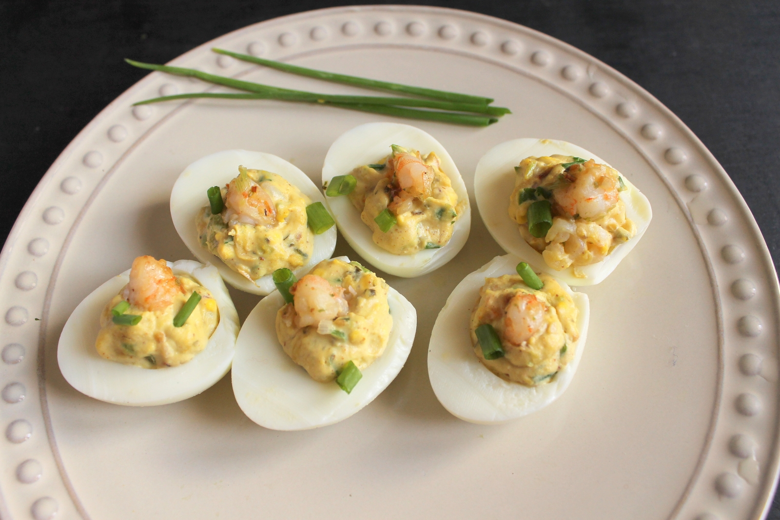 Shrimp Deviled Eggs Recipe