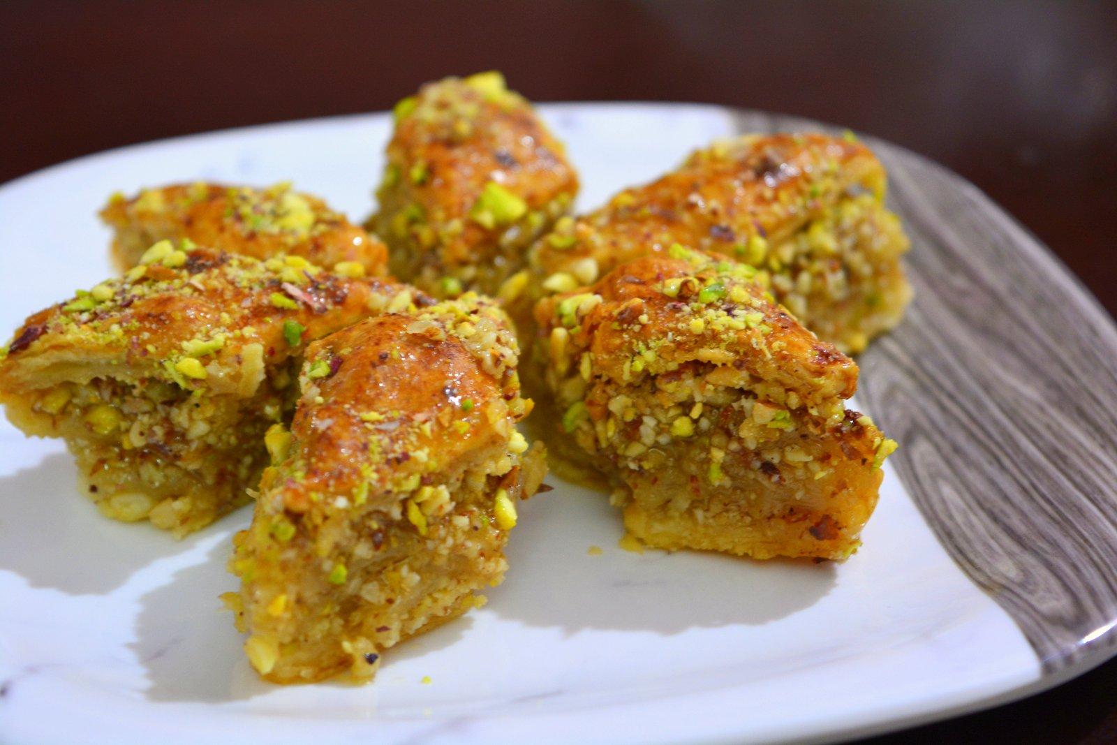 Turkish Baklava Recipe From Scratch By Archana S Kitchen