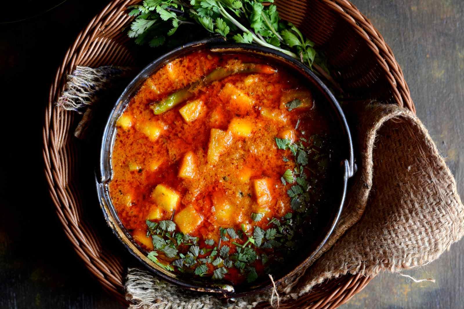 Kashmiri style al rogan josh pumpkin in red curry by archanas kitchen kashmiri style al rogan josh recipe pumpkin in red curry forumfinder Gallery
