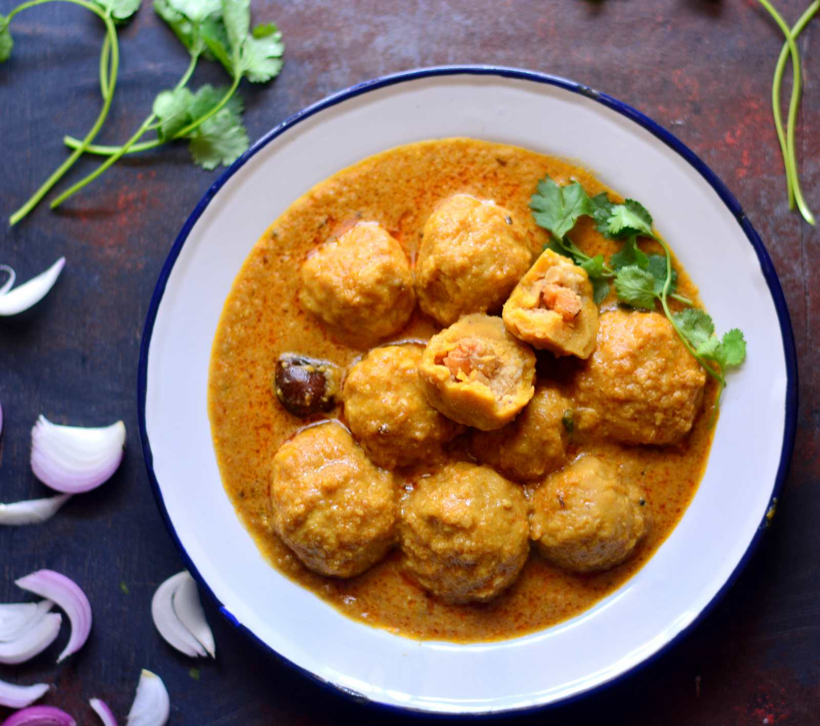 Rajasthani Govind Gatta Curry Recipe