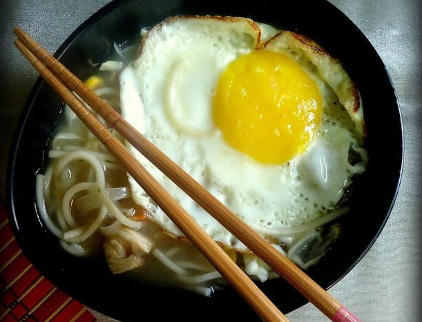 Japanese Chicken Udon Soup Recipe