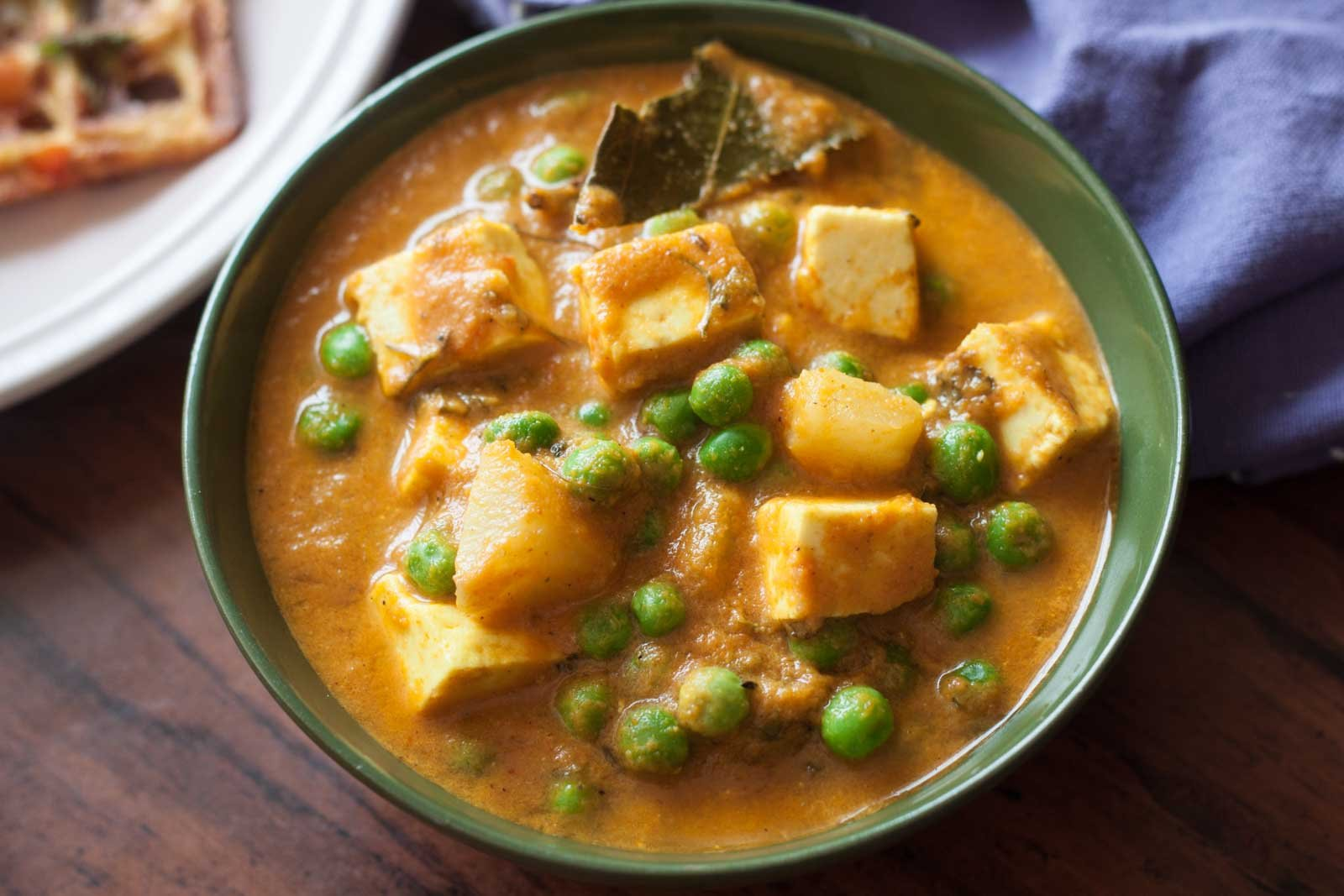 Aloo Matar Paneer Curry Recipe By Archana S Kitchen