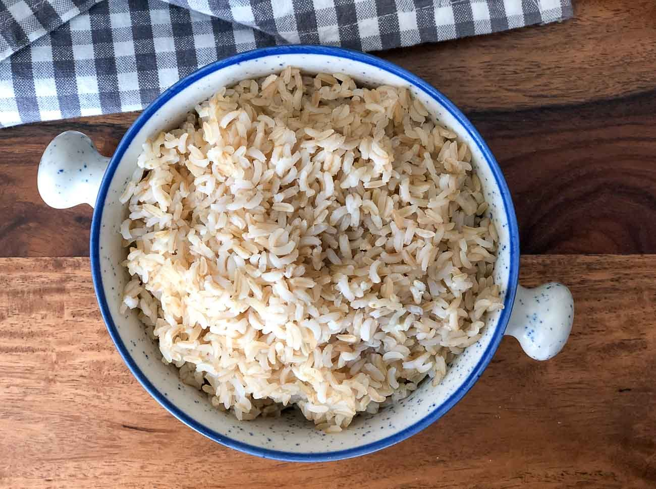 Brown Rice In Pressure Cooker Method