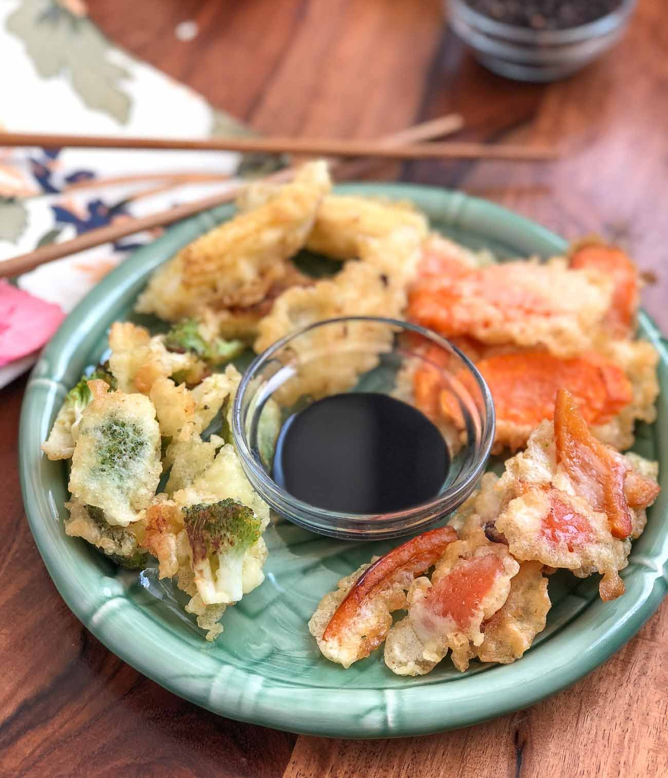 Crispy Vegetable Tempura Recipe