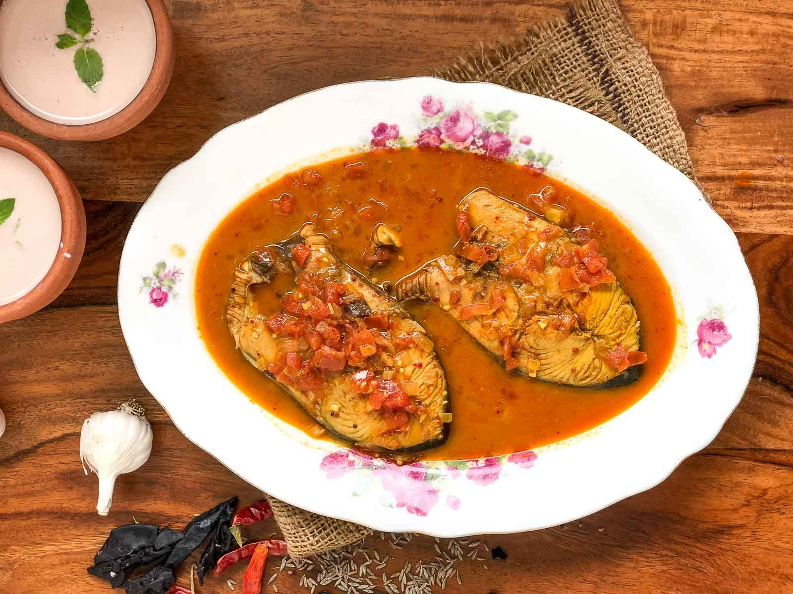 Malvani Fish Curry Recipe - Delicious And Spicy Fish Curry