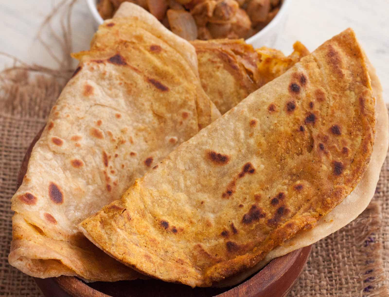 Masala Lachha Paratha Recipe