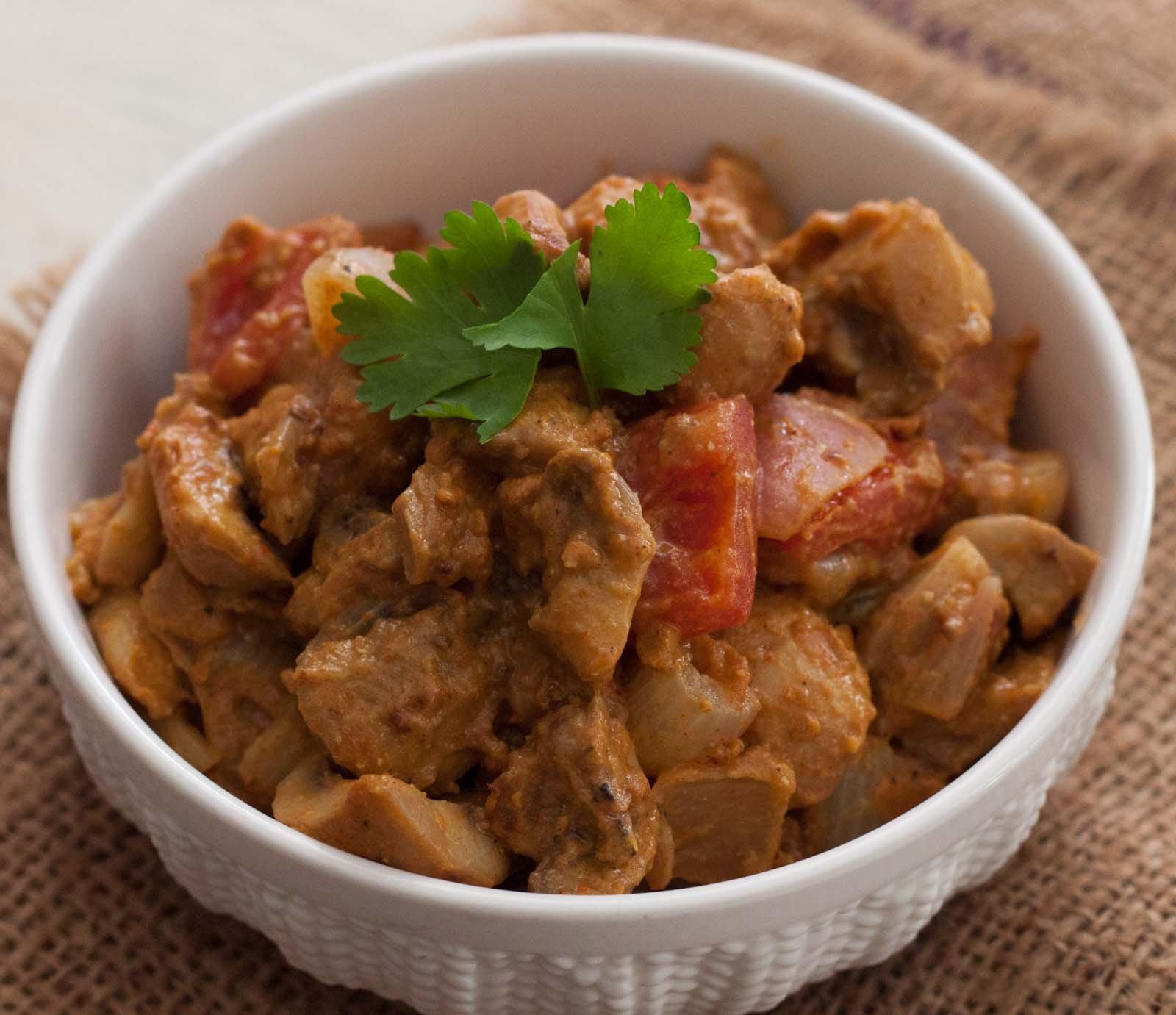 Mushroom Tikka Masala Dry Recipe By Archana S Kitchen