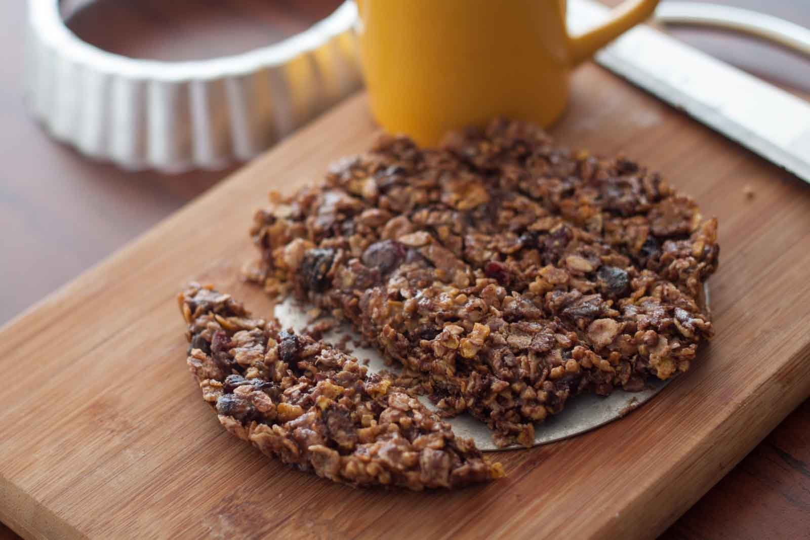 Almond Butter & Fig Muesli Bar Recipe