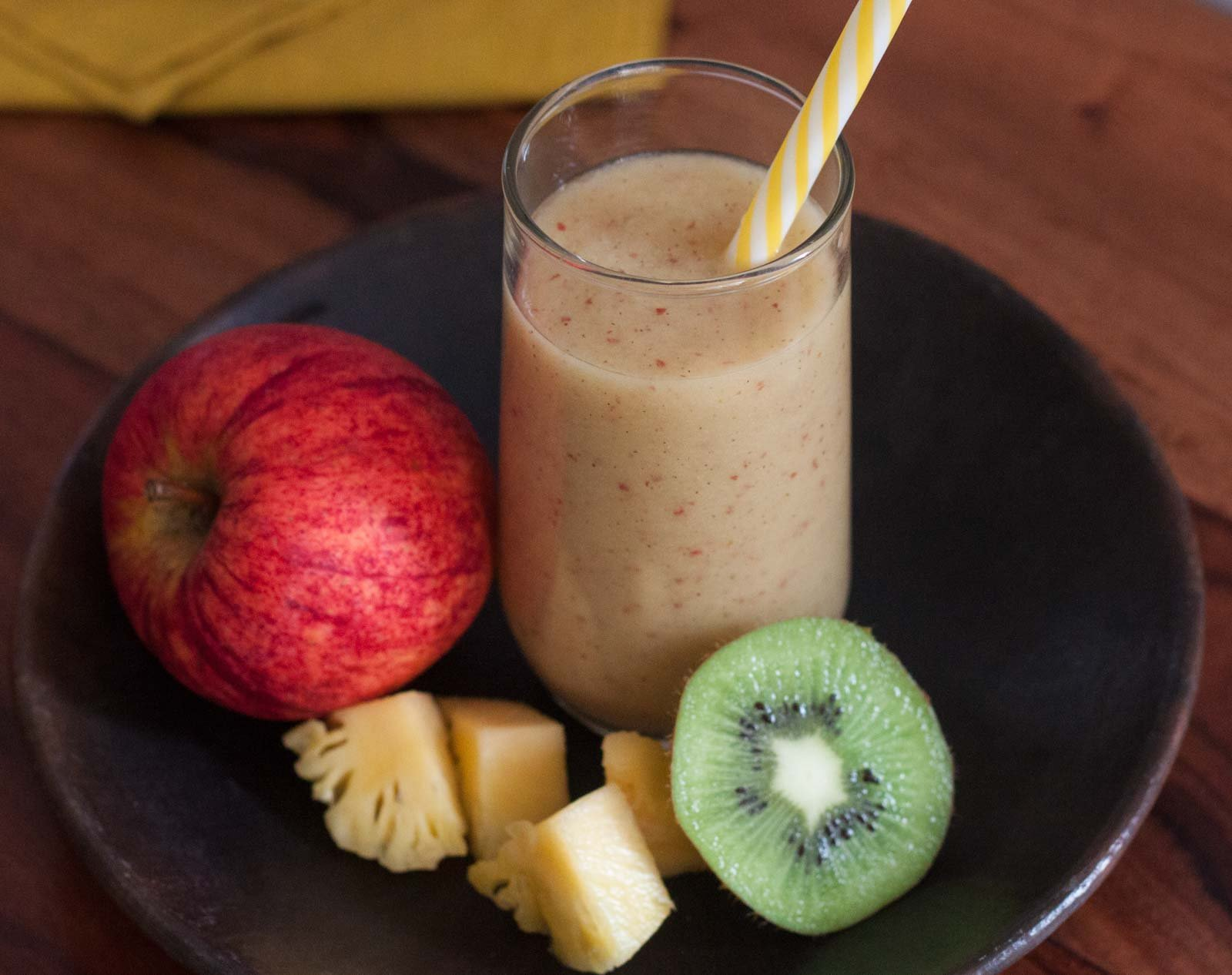 Apple, Kiwi, Pineapple Juice Recipe