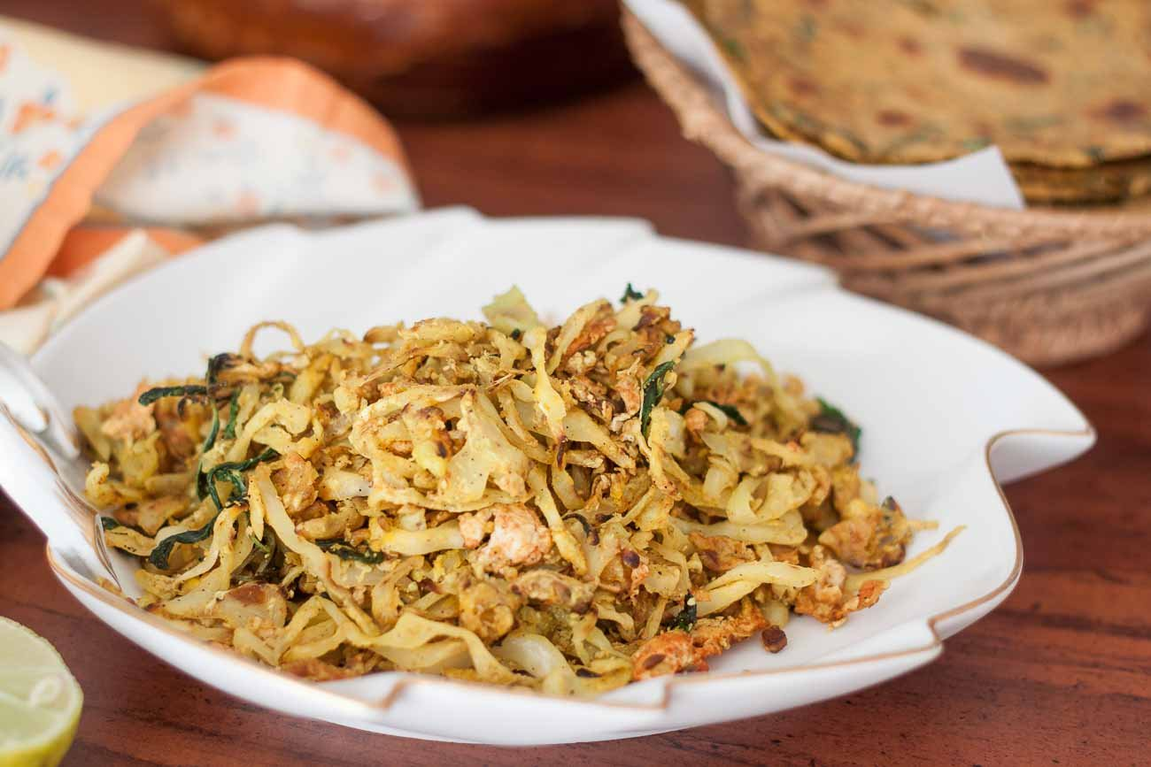 Cabbage Bhurji Recipe By Archana S Kitchen