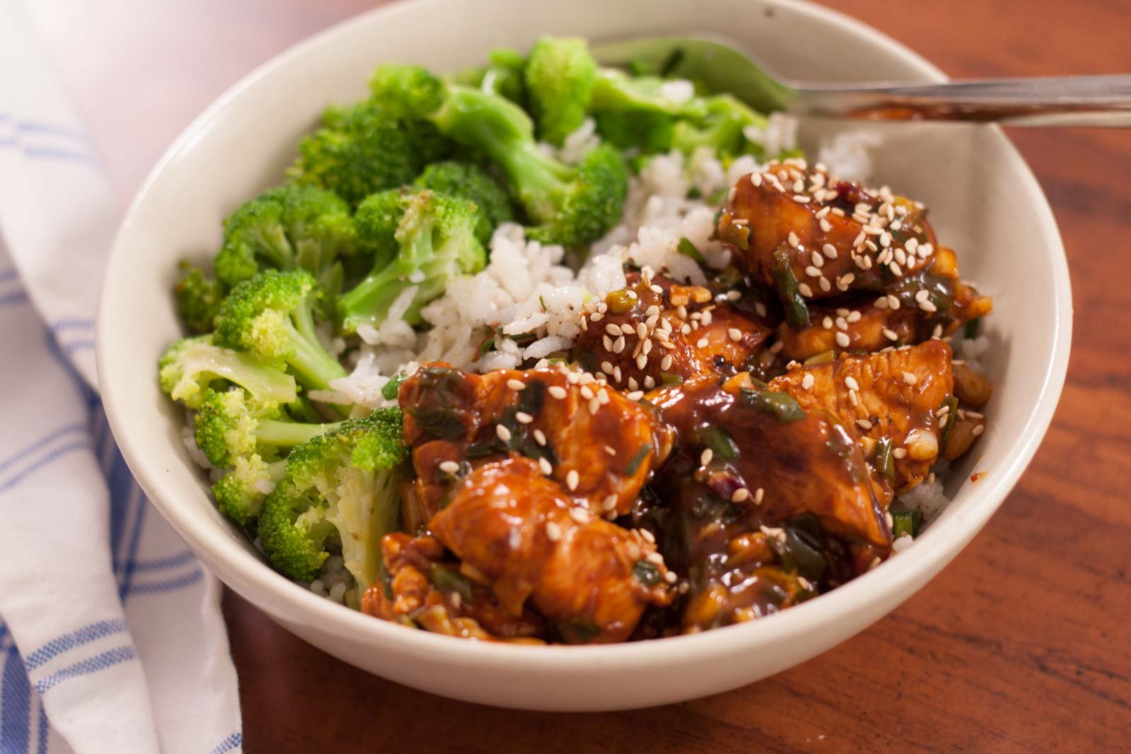 Chicken Teriyaki Rice day 9 diet plan