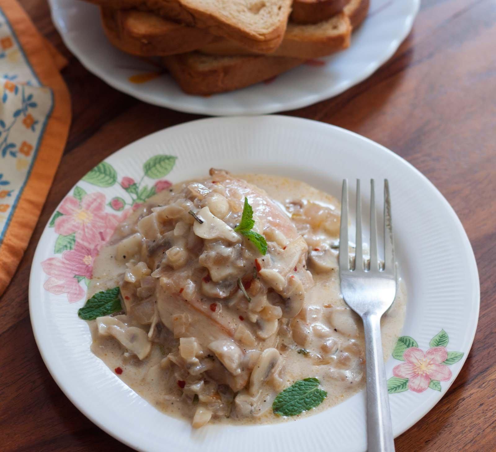 Chicken With Mushroom Sauce Recipe