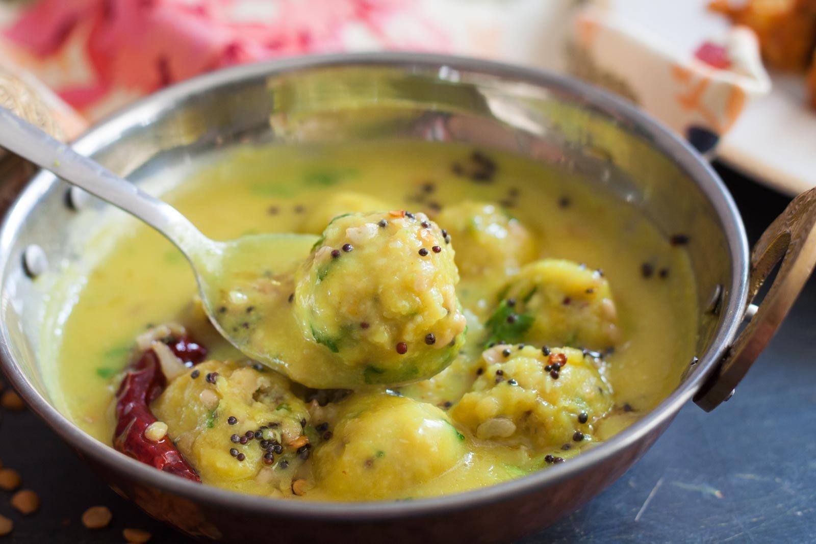 Karnataka style sandige huli recipe toor dal dumplings in gravy karnataka style sandige huli recipe toor dal dumplings in gravy recipe forumfinder Choice Image