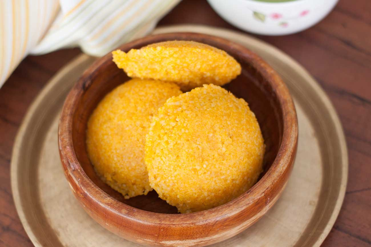 Mangalorean Style Cheenikayi Kadubu Recipe (Pumpkin sweet idli Recipe)