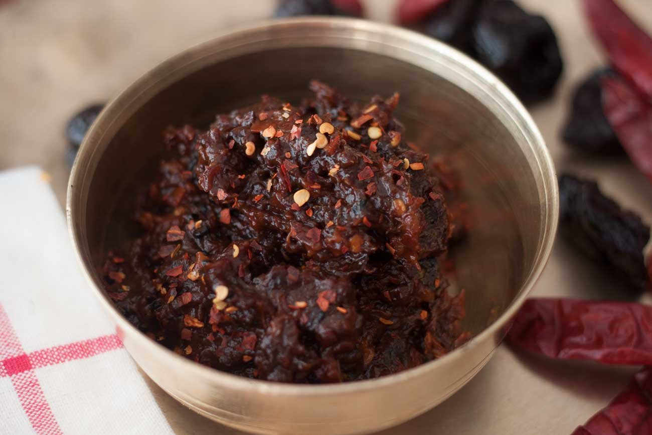 Spiced Prune Chutney Recipe