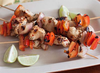 Spicy Lemon Chicken Kebab Recipe By Archana S Kitchen