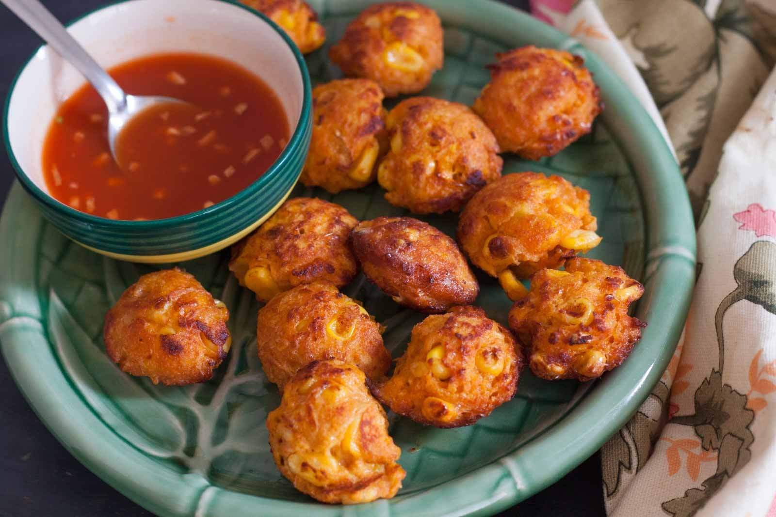 Thai Style Curried Corn Fritters Recipe