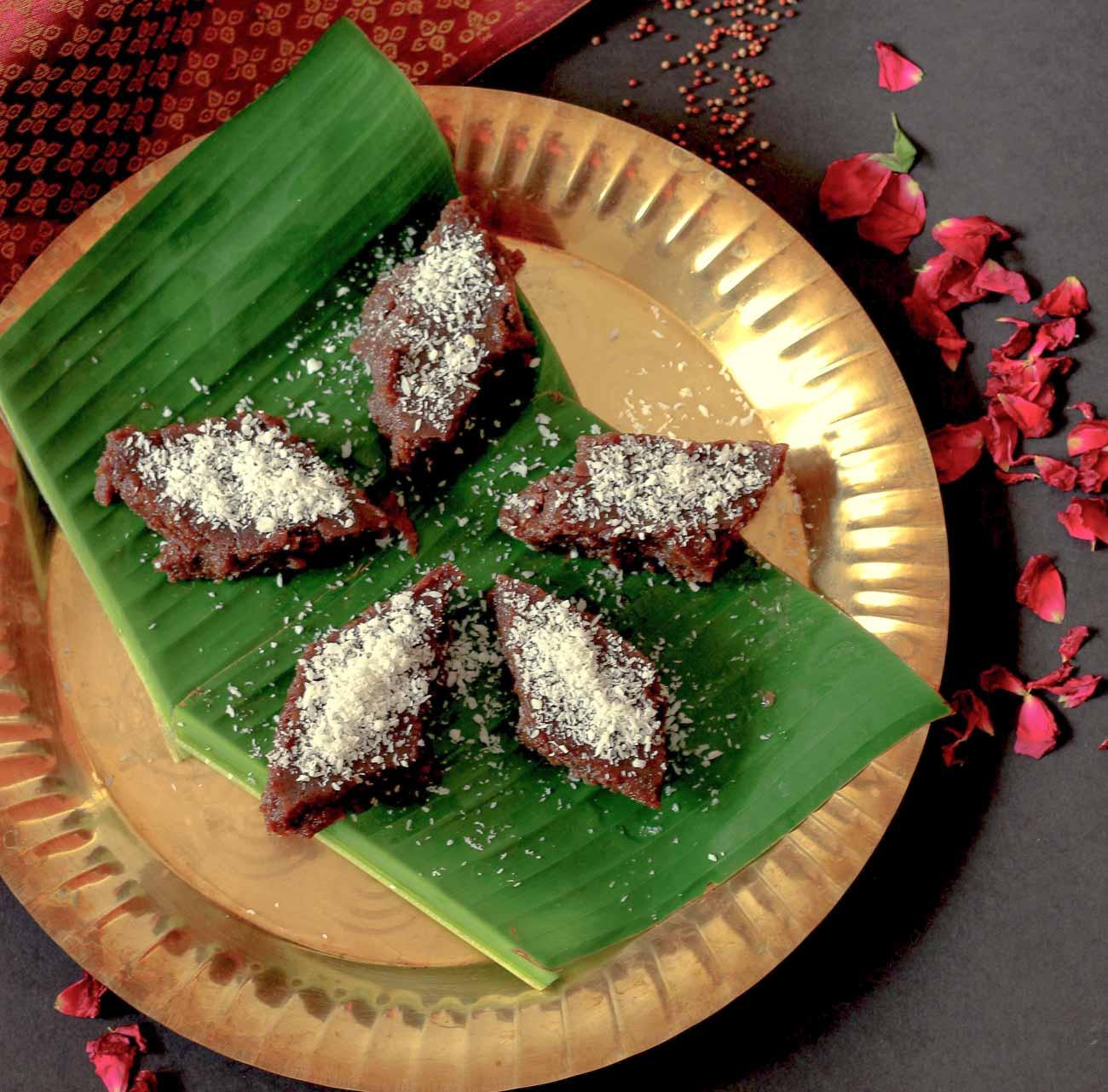 Ragi halbai recipe ragi halwa recipe by archanas kitchen ragi halbai recipe karnataka style ragi halwa recipe forumfinder Choice Image