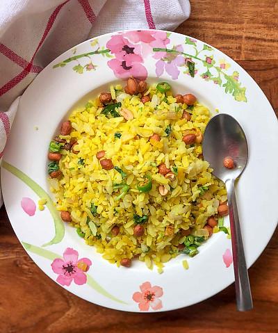 Aval Upma Recipe - South Indian Style Poha
