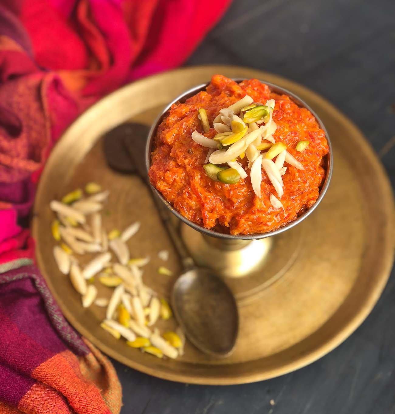 Gajar Halwa Recipe With Khoya by Archana's Kitchen