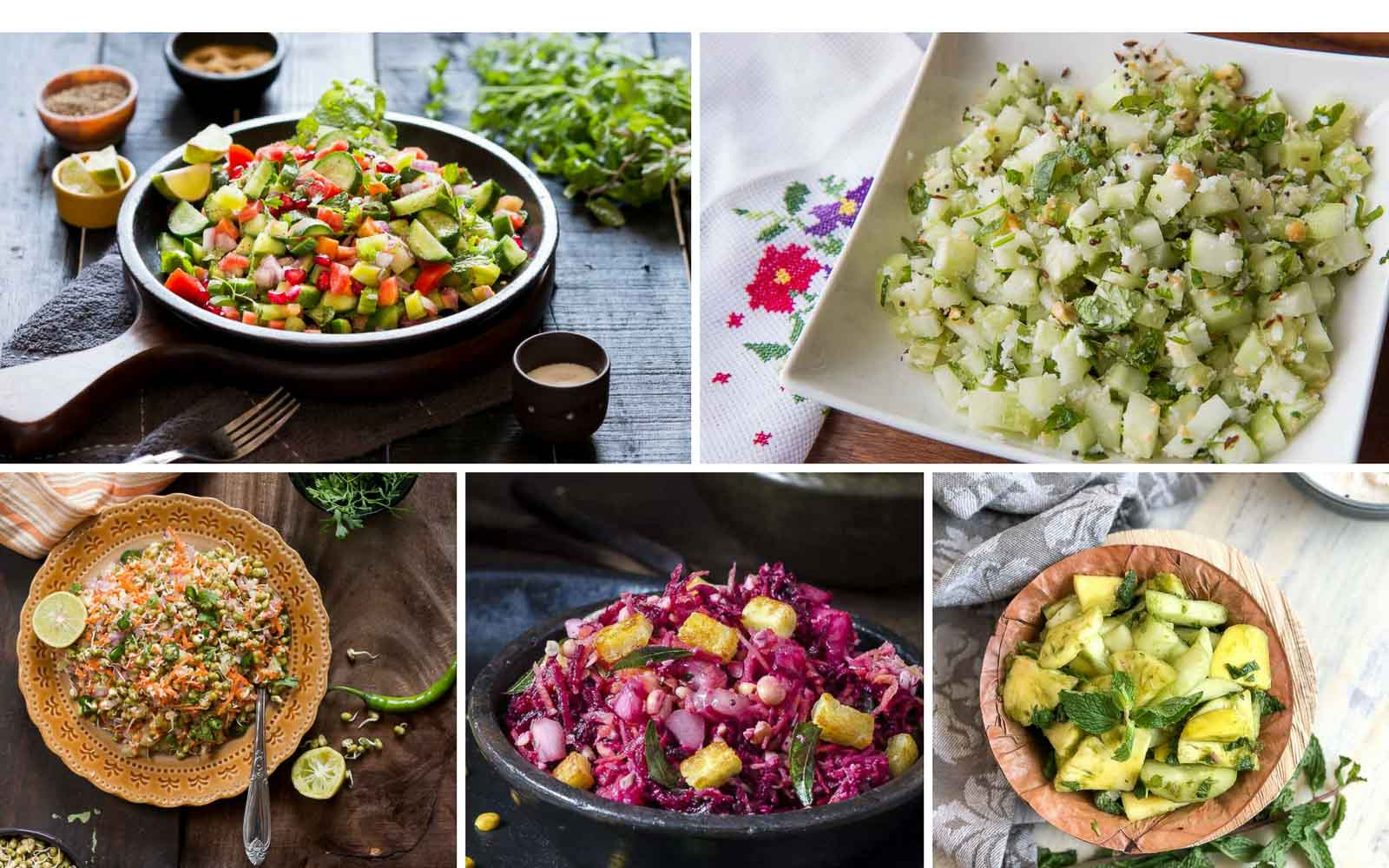 32 Super Healthy Indian Salad Recipes To Make Right Now By Archana S Kitchen