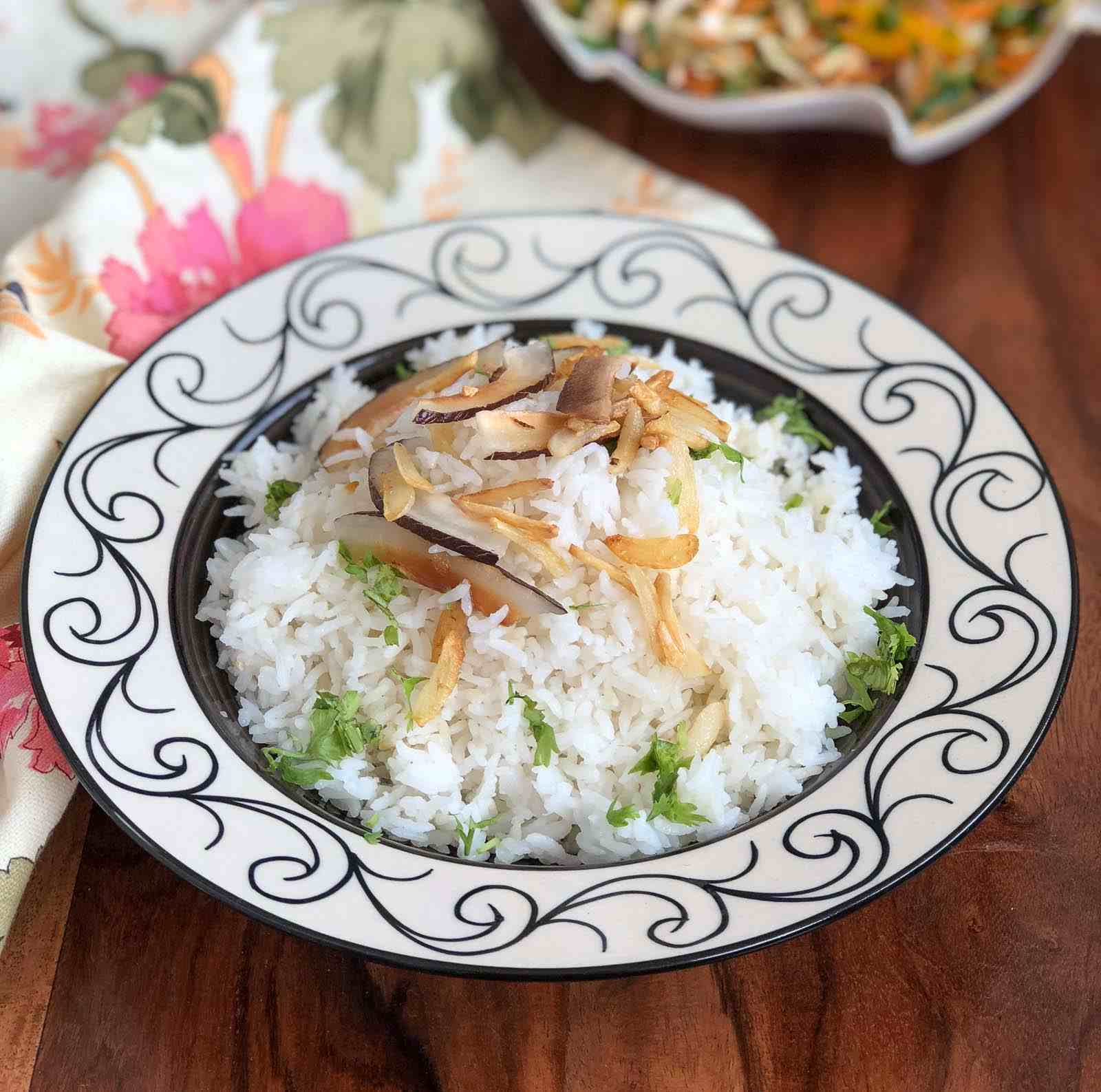 Thai Coconut Garlic Rice Recipe