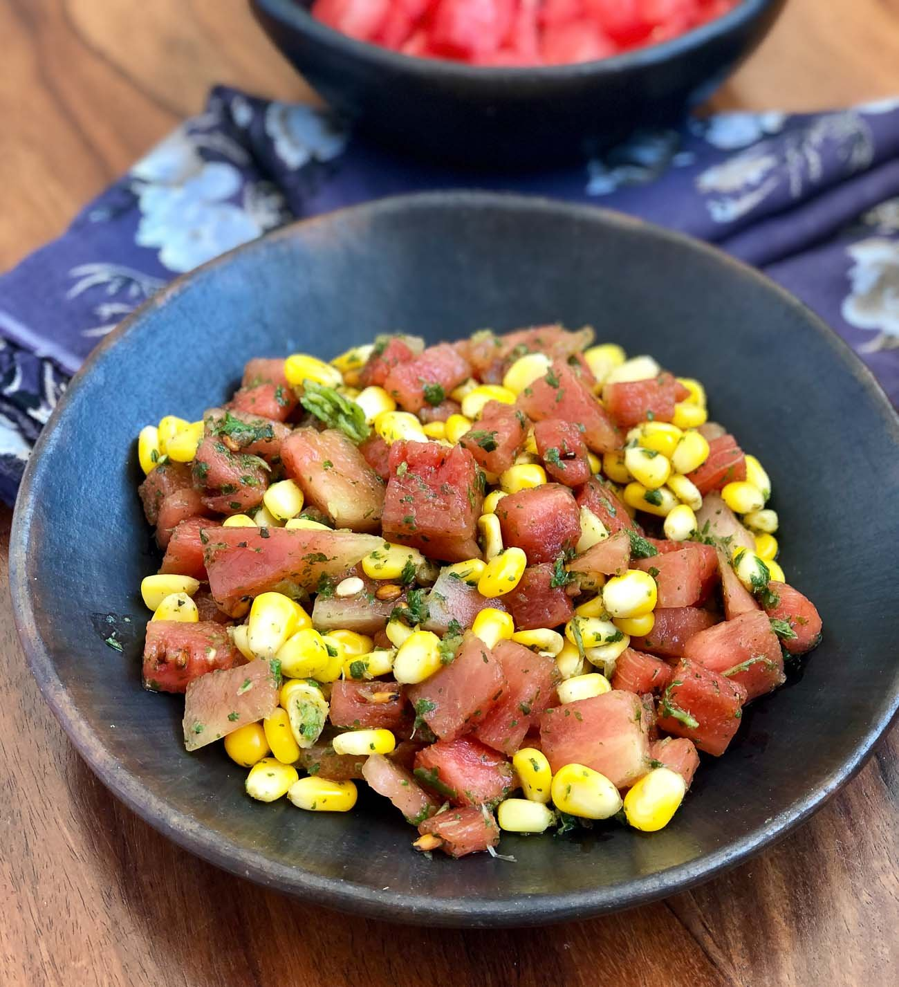 Watermelon And Corn Salad Recipe - A Refreshing Summer Salad
