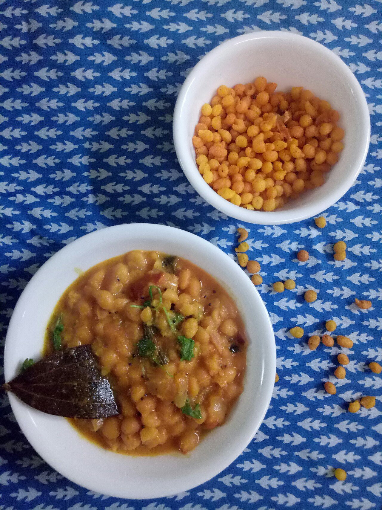 Kara Boondi Kurma Recipe - Boondi In Coconut Milk