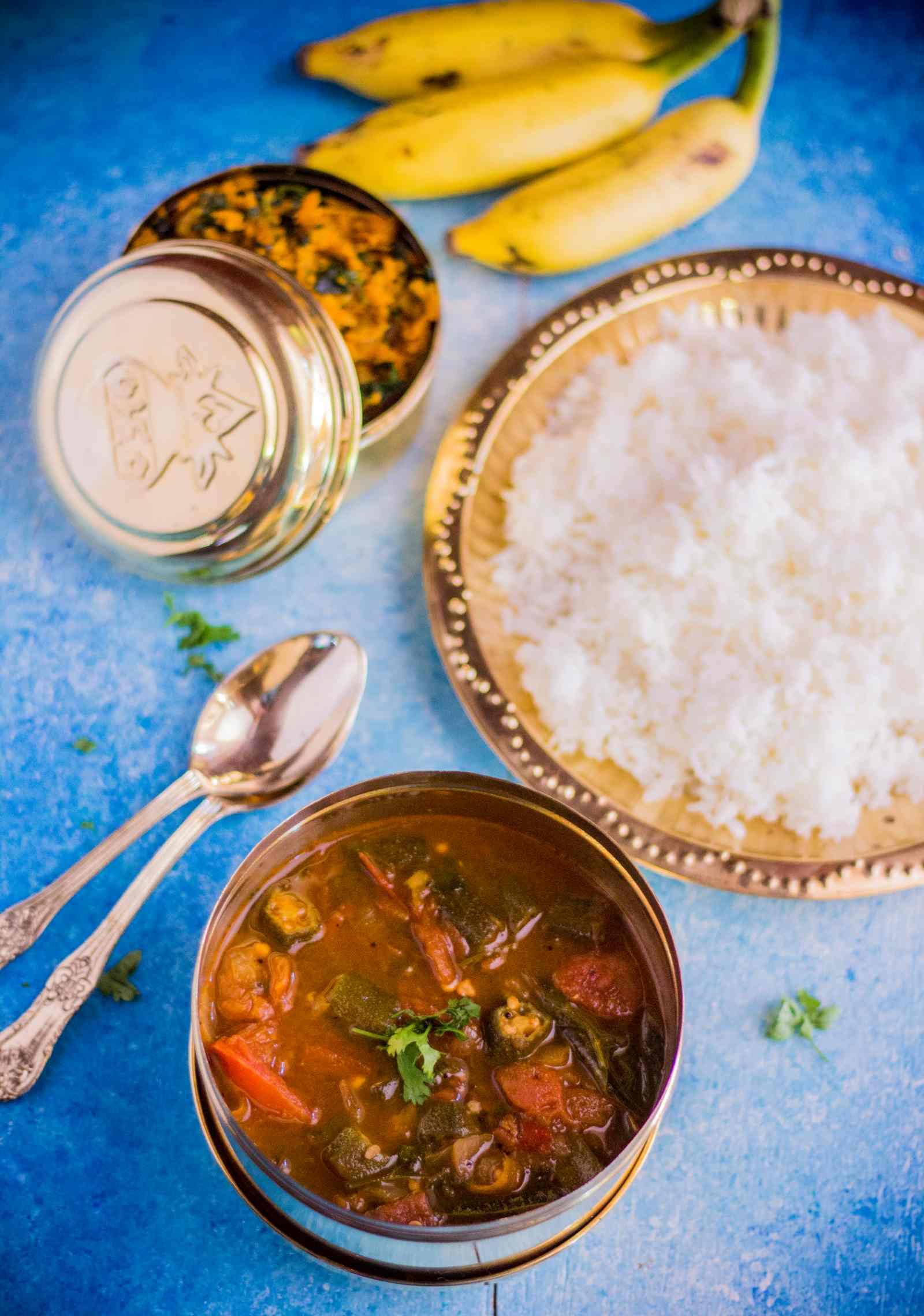 Andhra Style Bendakaya Pulusu Recipe By Archana S Kitchen