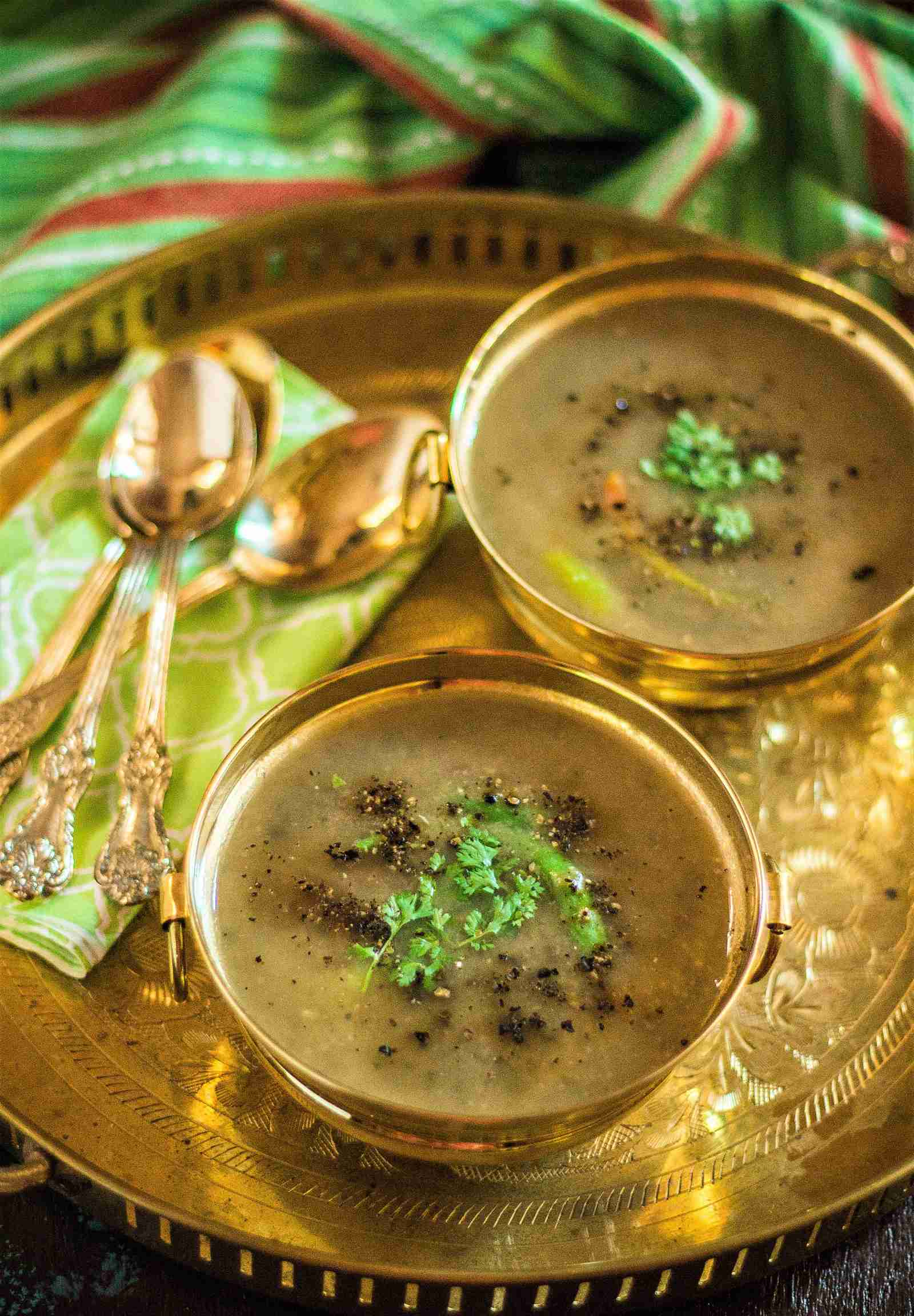 Healthy Green Moong Dal Soup Recipe By Archana S Kitchen