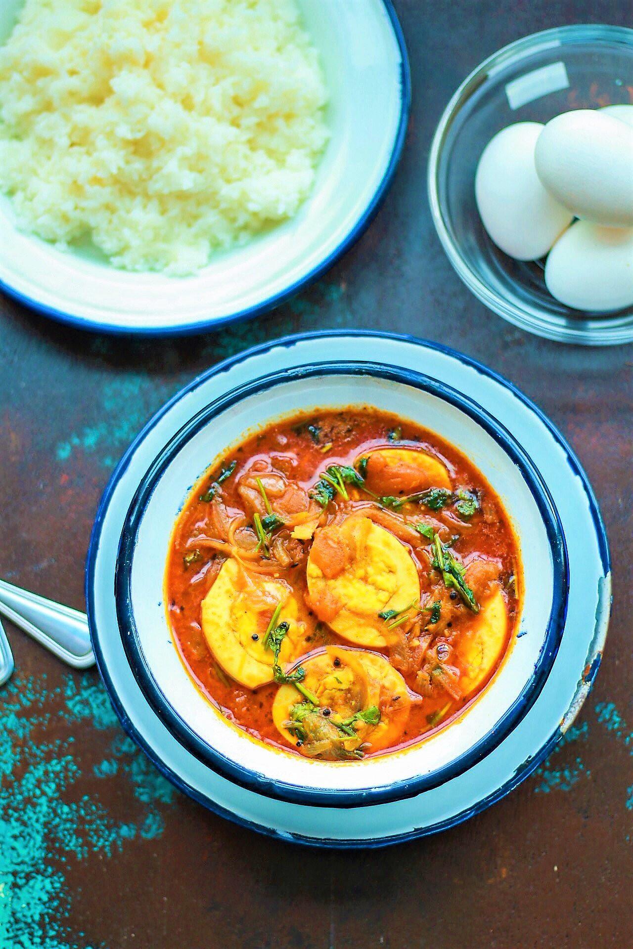 Muttai Kuzhambu Recipe - South Indian Egg Curry by Archana\'s Kitchen