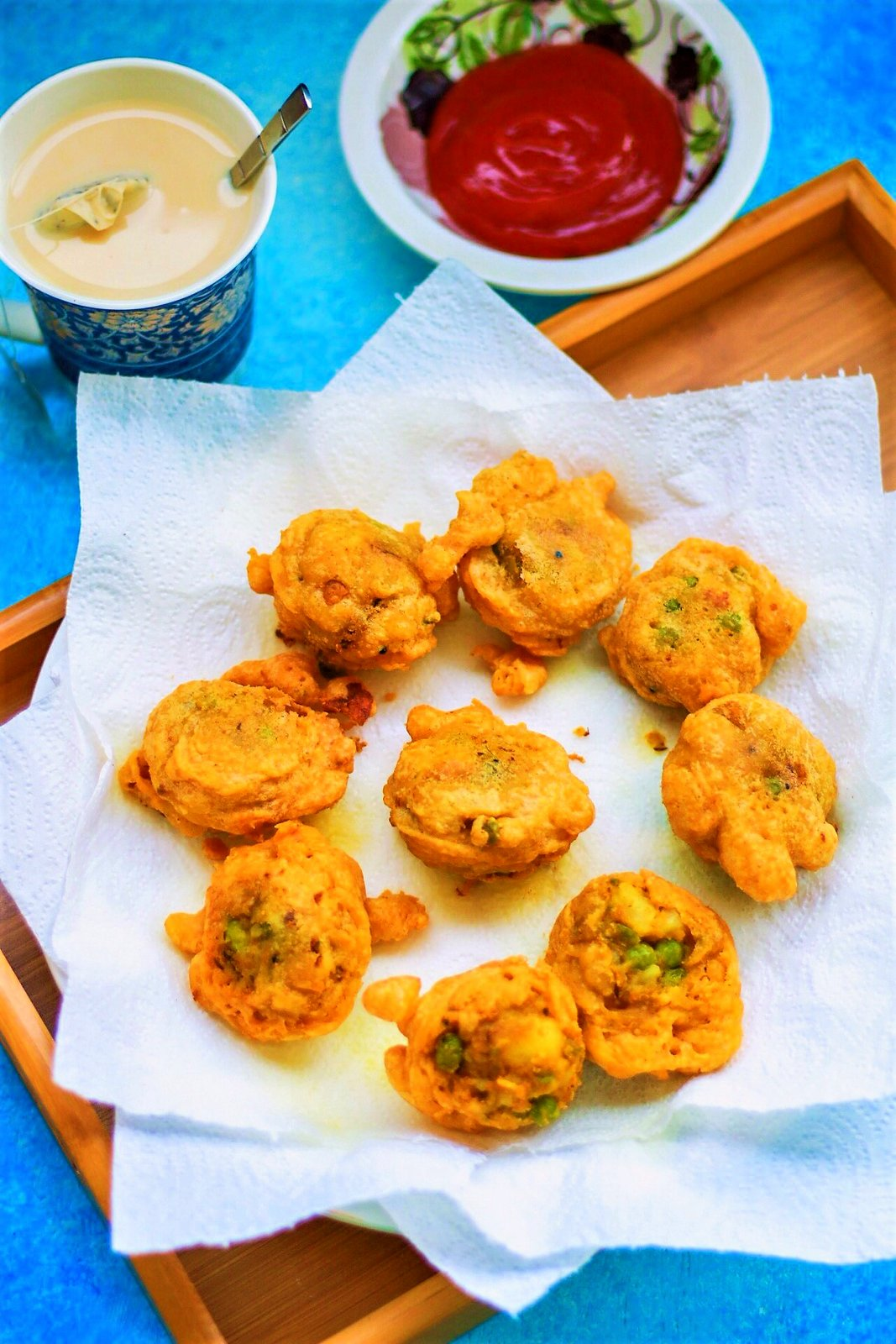 Potato Bonda Recipe Flavoured With Sambar Powder