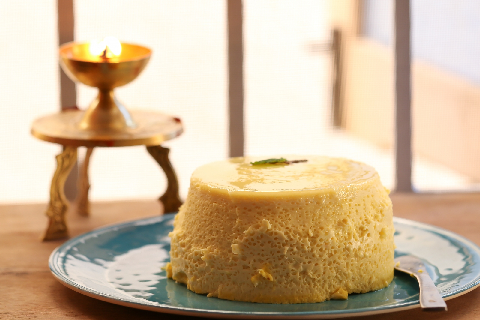 Seem Paal Recipe Steamed Colostrum Milk Pudding By