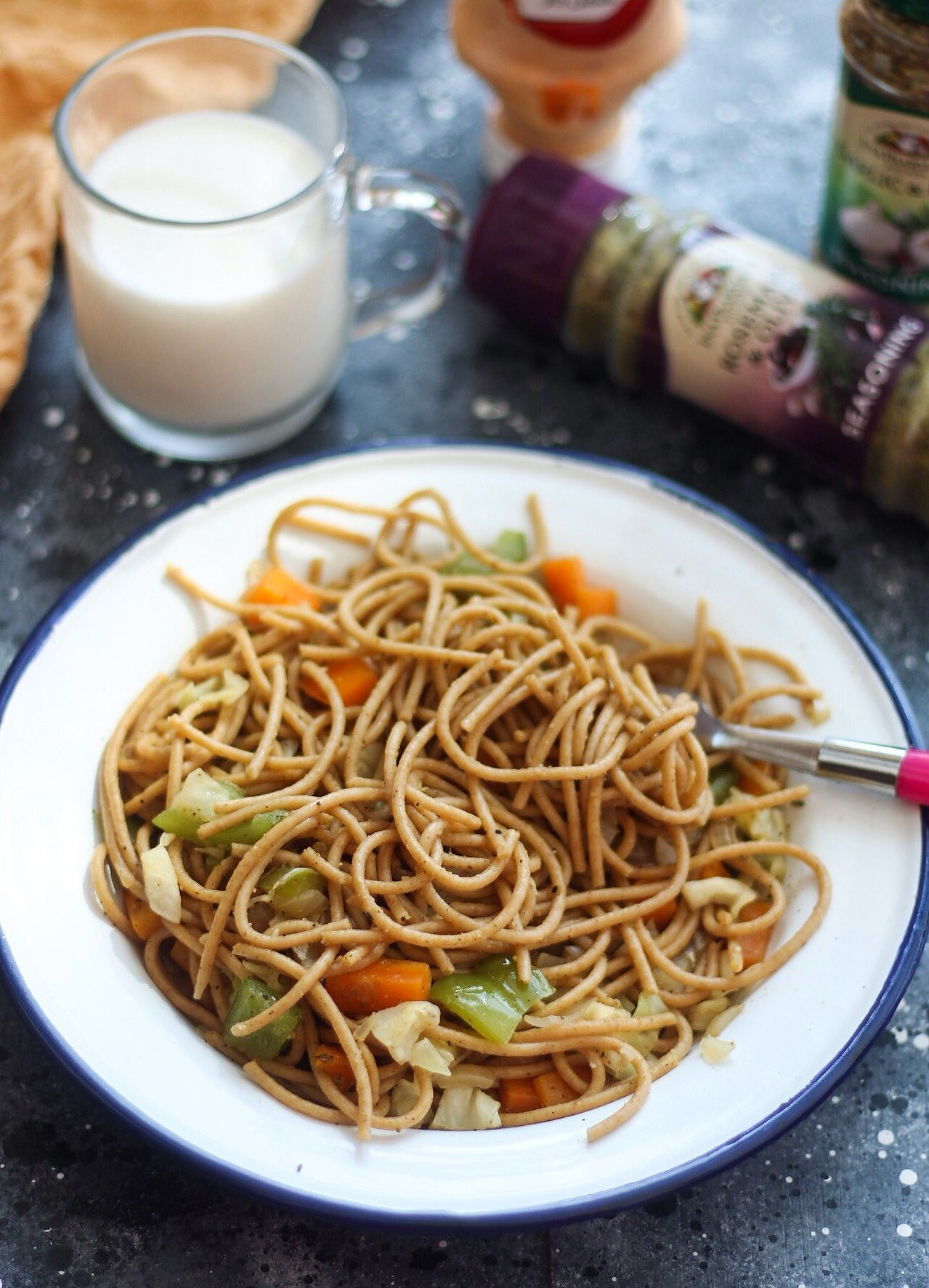 Spaghetti Stir Fry Recipe