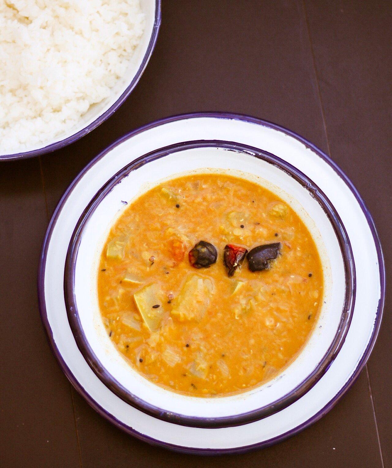 Sorakkai Paruppu Kuzhambu Recipe By Archana's Kitchen