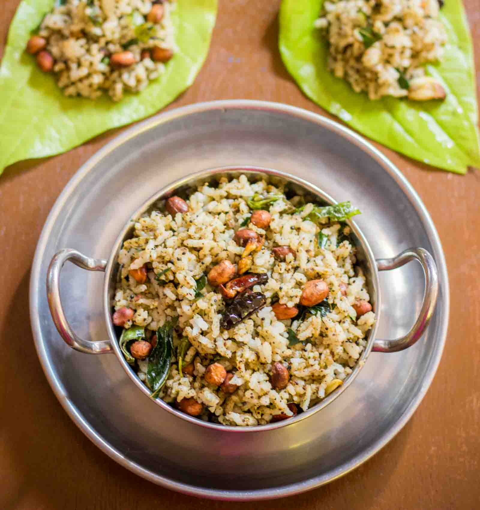 Kongunadu Style Vetrilai Sadam Recipe - Betel Leaves Rice