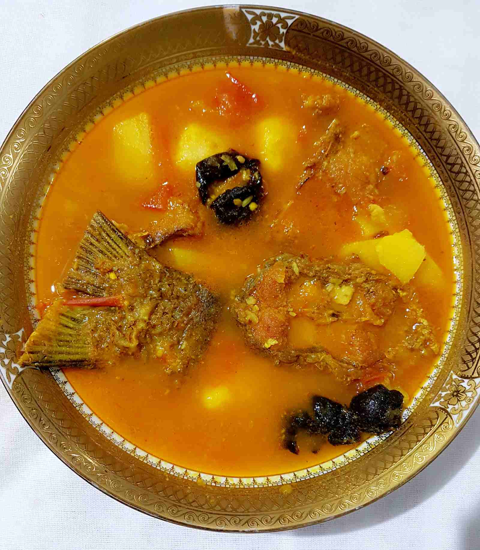 Assamese Machor Tenga Anja Recipe - Fish Curry With Kokum