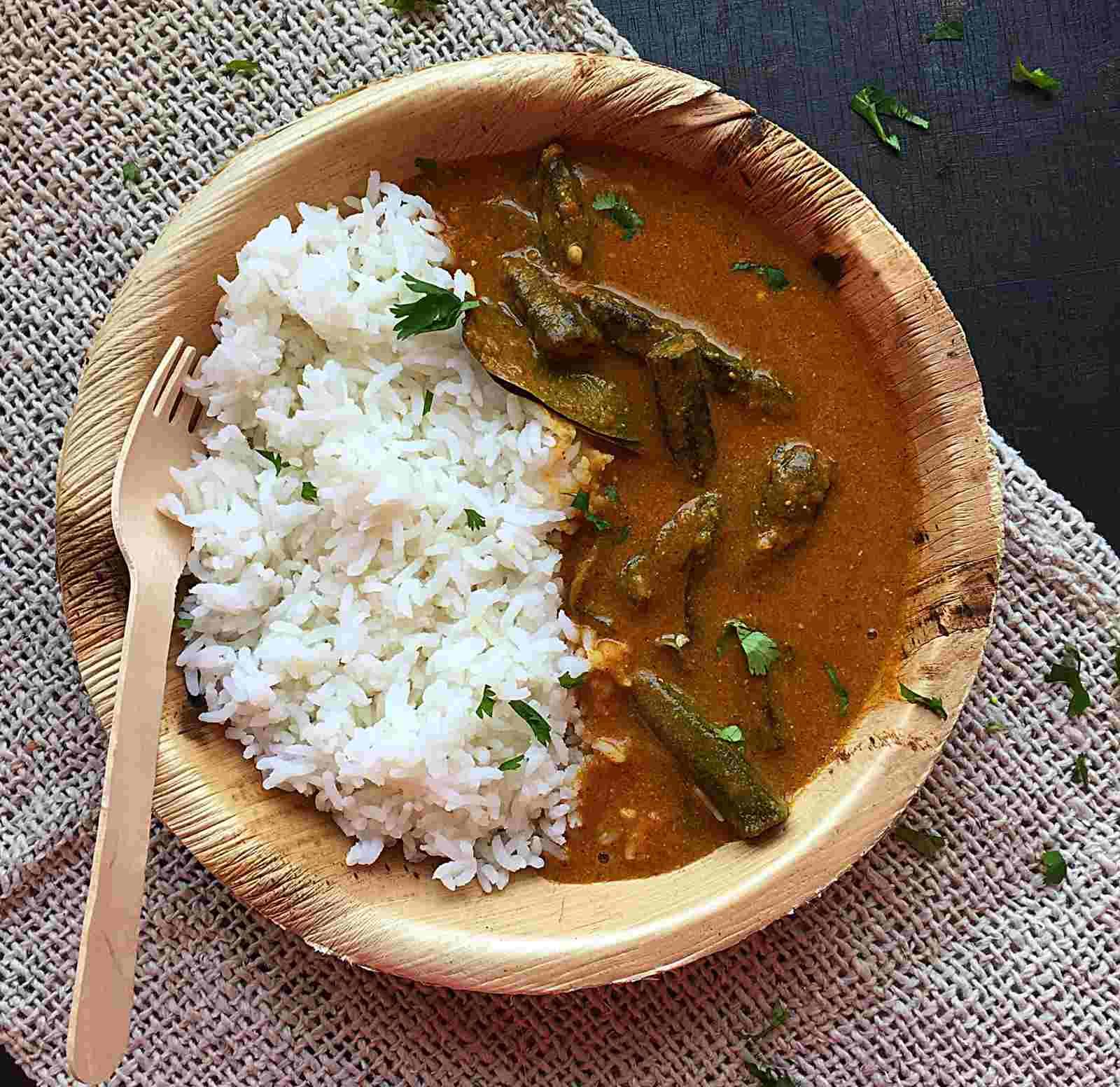 Bengali bhindi doi posto recipe by archanas kitchen bengali bhindi doi posto recipe forumfinder Image collections