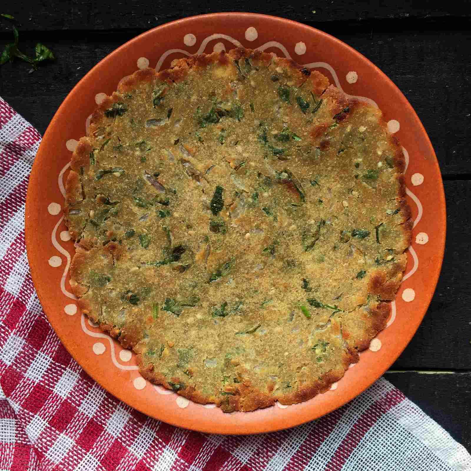 Masala Jowar Bhakri Recipe