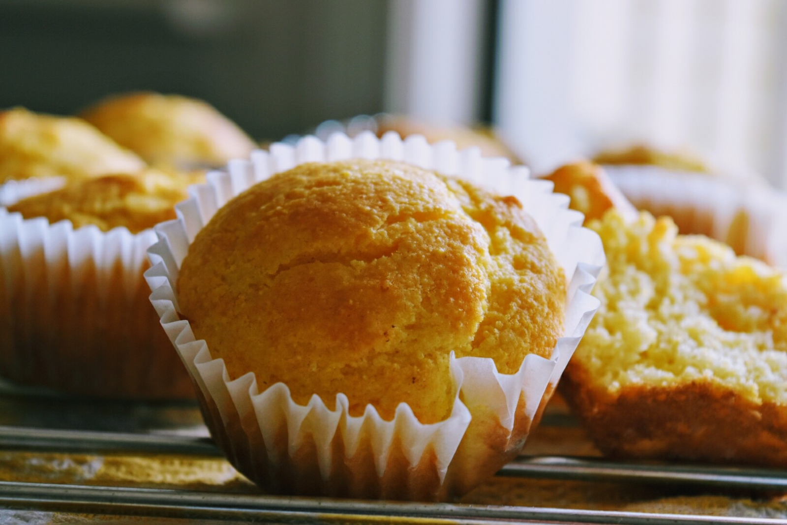 Fluffy Corn Muffins Recipe