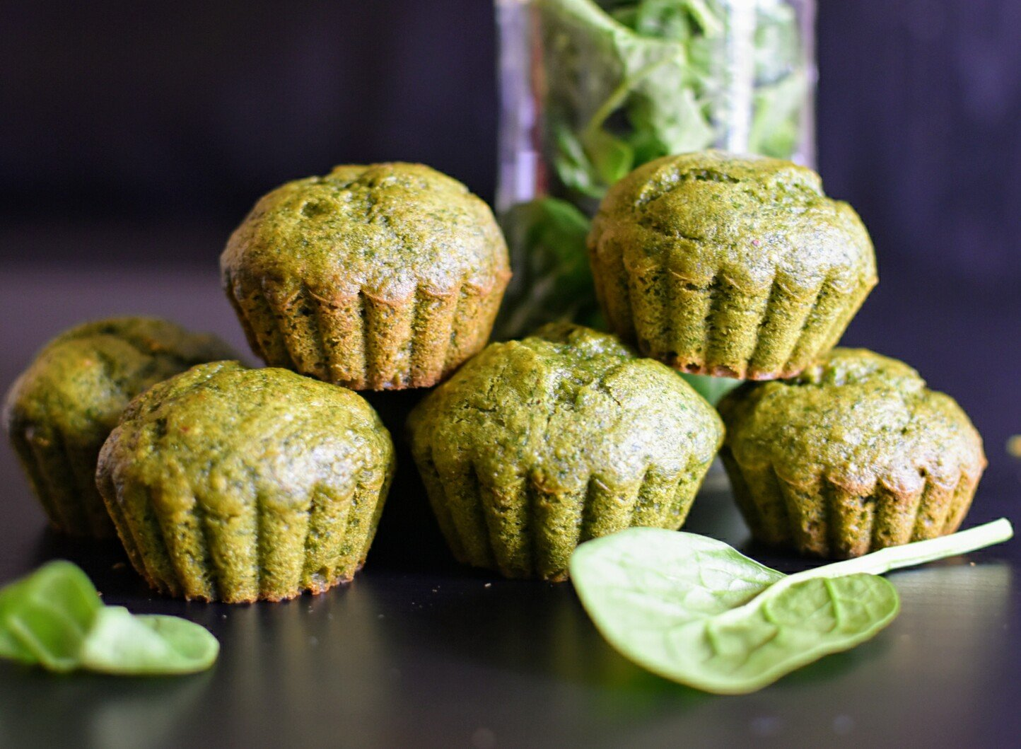 Spinach Banana Muffin Recipe