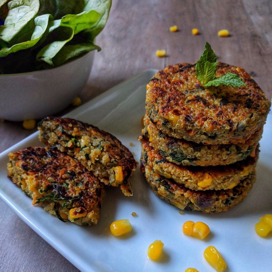 Vegetable Quinoa Patty Recipe